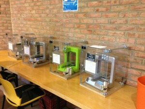 Small AM machines in library